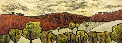 Steve Capper, 'Autumn Hills, Northern English Abstract Landscape', ca. 2015