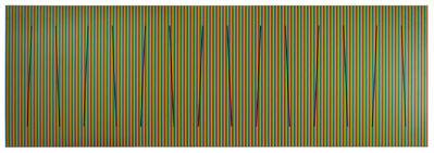 Carlos Cruz-Diez, 'Color al espacio serie churum 1', 2015