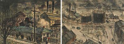 Henry Gasser, 'Two Works of Art: Untitled (Newark), Untitled'