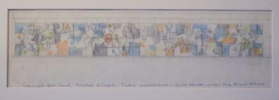 Carlos Merida, 'Anteproyecto Para Mural, Facultad de Comercio, Ciudad Universitaria', 1956