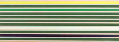 Kenneth Noland, 'Shadow Line (Also known as 'Shadow Plane')', 1968