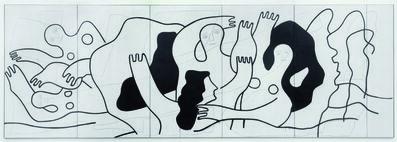 Fernand Léger, 'Les Plongeurs (The Divers)', 1942