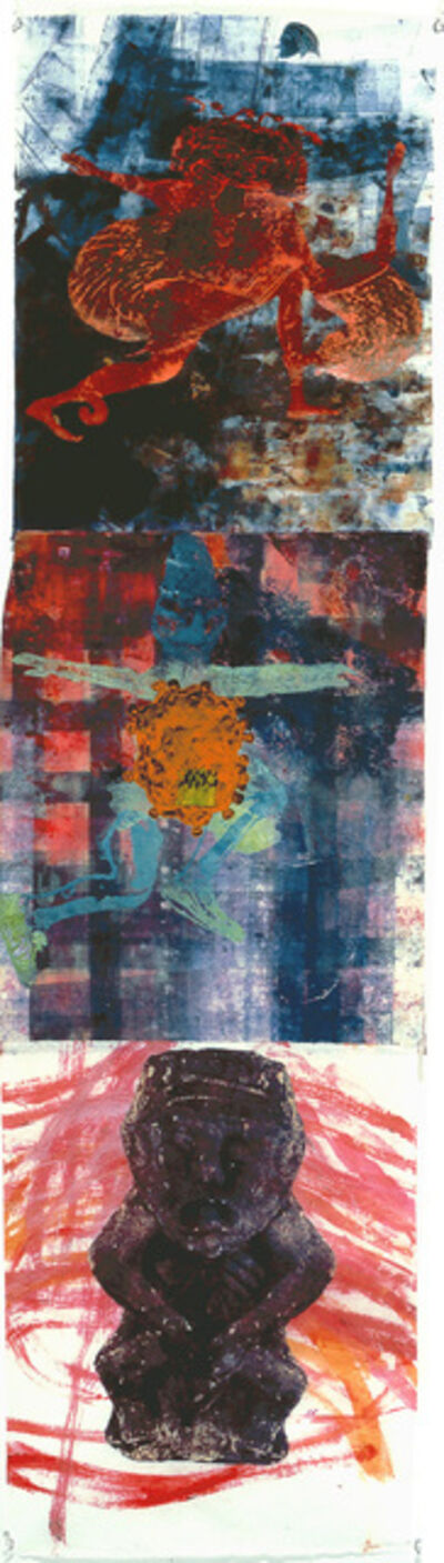 Nancy Spero, 'A la Recherche', 2001