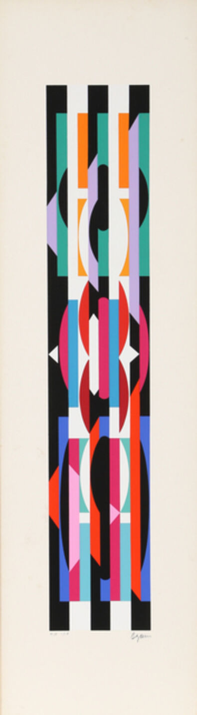 Yaacov Agam, 'Untitled 6 from +-x9 Portfolio', 1980