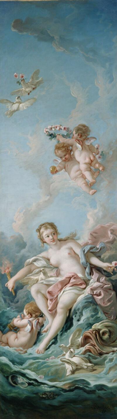 François Boucher, 'Venus on the Waves', 1769
