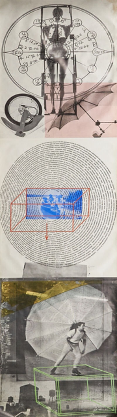 Robert Rauschenberg, 'Visual Autobiography: X-Ray, Circle of Words, Dance', 1968
