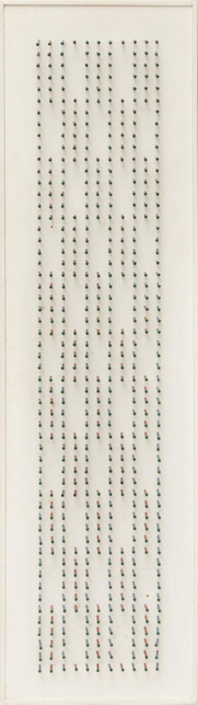 César Andrade, 'Puntigrama136', 1989
