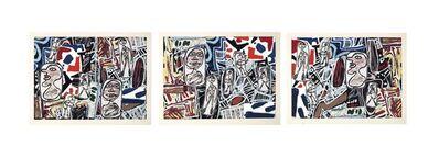 Jean Dubuffet, 'Faits mémorables I-III', 1978