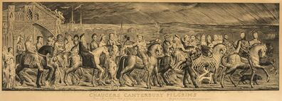 William Blake, 'Chaucer's Canterbury Pilgrims'