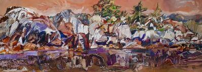David Alexander, 'White Outer Island Rocks', 2020