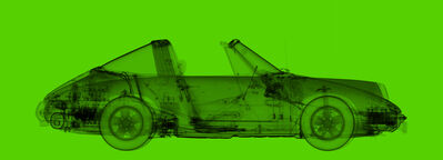 Nick Veasey, '1972 Porsche 911 Targa Light Green', 2020