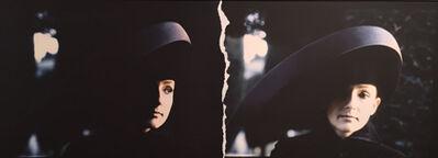 Deborah Turbeville, 'Selina Blow, L'Uomo VOGUE, Painswick Cemetery, England', 1992