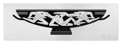 Cleon Peterson, 'Kylix (white)', 2018