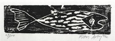 Milton Avery, 'Fish', 1952