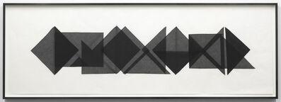 Elaine Reichek, 'Triangles #2', 1977