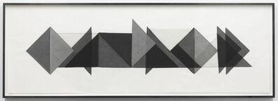 Elaine Reichek, 'Triangles #1', 1977