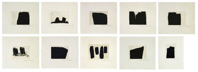 Richard Serra, 'Videy Afangar Series', 1991