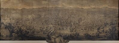 Giuseppe Vasi, 'Prospetto di Roma verso ponente', 1750
