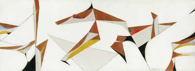 Paul Kallos, 'Abstract Composition', 1950