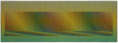 Carlos Cruz-Diez, 'Induction Chromatique à Double Fréquence Madrid A, Ed. 6/8', 2008