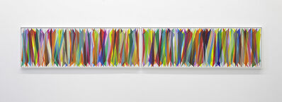 Beat Zoderer, 'Vertikales Keilbild No .06/20', 2020