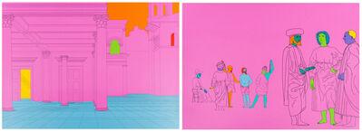 Michael Craig-Martin, 'Deconstructing Piero (pink)', 2004