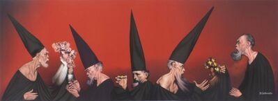 Rafael Coronel, 'El universo rojo', ca. 1990