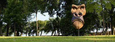 Quentin Garel, 'Masque de Gorille monumental', 2011