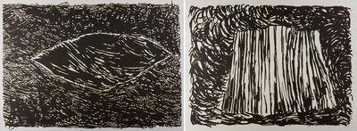 Martha Diamond, 'Two works of art'