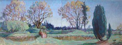 Joseph Plaskett, 'Suffolk Spring #1(diptych)'