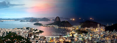 Andrew Prokos, 'Night & Day - Botafogo Cityscape, Rio de Janeiro', 2016