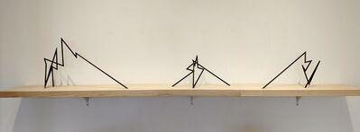 Robert Mangold (b.1930), 'Burns Park Model', 1997