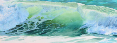 Kay Bradner, 'Green Wave', 2104
