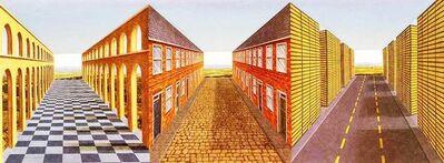 Patrick Hughes, 'Architecture', 1999