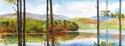 Elissa Gore, 'Autumn Lake 1 ', 2013