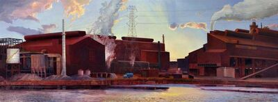 Art Chartow, 'Ford's Rolling Mills', 2009