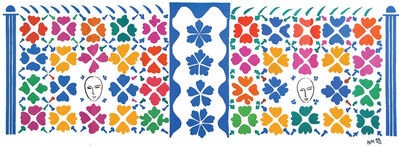 Henri Matisse, 'Decoration Masques', 1953