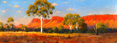 Ted Lewis, 'Afternoon Glow, MacDonnell Ranges'