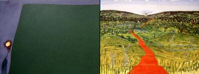 Sandra Meigs, 'Across the Sea of Grassland, Dead Roads', 1992