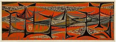 Mary Dambiermont, 'Rythme Solaire', Late 20th Century