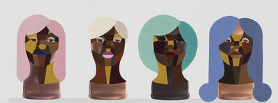 Derrick Adams, 'Style Variation Row 1,', 2019
