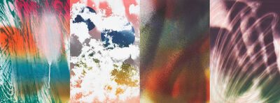 Katharina Grosse, 'Fo`Faux Rocks', 2007