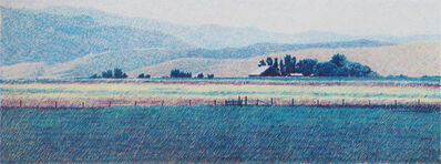 Mike Pease, 'Mountain Ranch', 1990