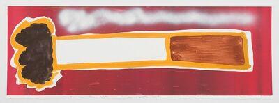 Katherine Bernhardt, 'Rainbow Cigarette', 2017