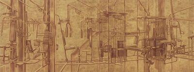Zang Kunkun, 'Gold Plated 镀金', 2013