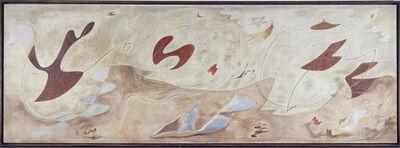 André Masson, 'La famille en métamorphose (The Family in a State of Metamorphosis)', 1929