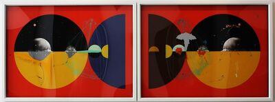 Aditya Pande, 'Half Life Form VII & IX (Diptych)', 2012