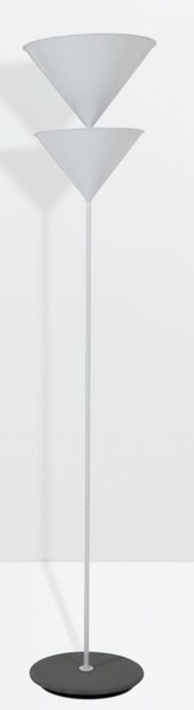 Vico Magistretti, 'a Pascal floor lamp with a lacquered aluminum structure', 1979