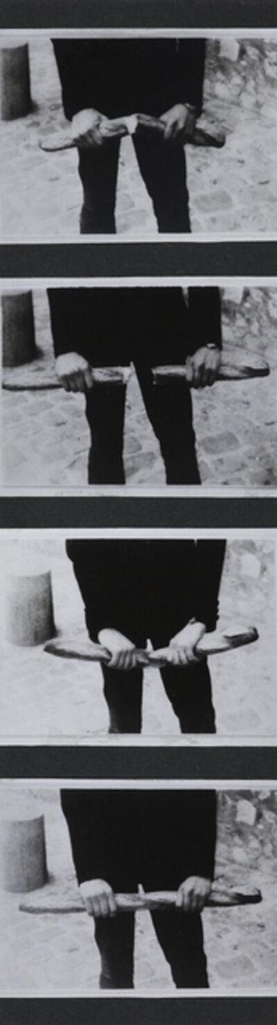 Károly Kismányoky, 'Breaking the Bread', 1973
