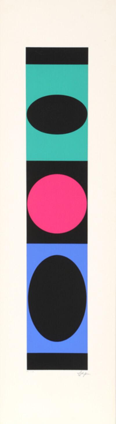 Yaacov Agam, 'Untitled 10 from +-x9 Portfolio', 1980